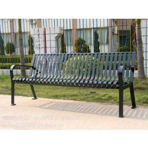 供应全钢有靠背系列公园椅