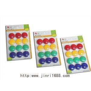 供应磁粒进口磁条、磁贴白板强力磁钉