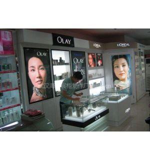 供应武汉展柜厂,手机化妆品展柜制作公司,武汉精品服装展柜设计订做就找海宏家具