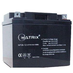 供应铅酸蓄电池12V38AH (Matrix)