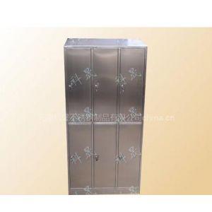 供应天津科晟D-3不锈钢六门更衣柜 SUS304/SUS201