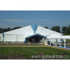 供应专业制造50米超大跨度篷房 大型展会篷房工厂