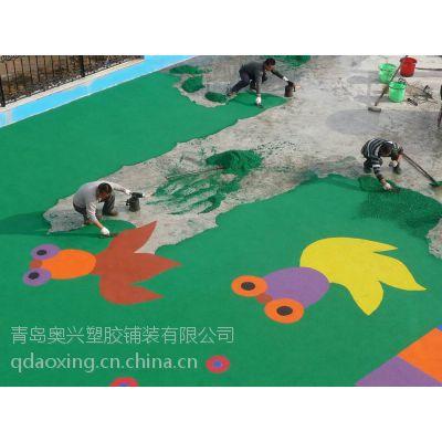 新国标幼儿园塑胶活动场地材料生产厂家 幼儿园塑胶地面施工