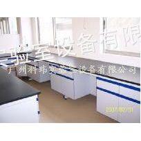 供应广州科玮实验室家具厂家供应 钢木结构边台