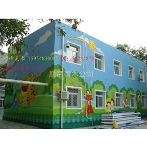 供应幼儿园壁画之北京知春里小学壁画