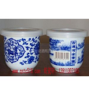 供应景德镇陶瓷口杯,景德镇青花瓷口杯