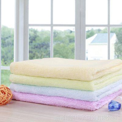 全竹纤维小毛巾竹炭洗脸面巾儿童小方巾擦手巾 批发 特价