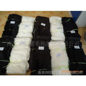 供应大量出售各种颜色兔皮褥子