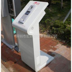 供应楼宇对讲 可视对讲门口机 门禁系统安装台 立柱 支撑台 操作台