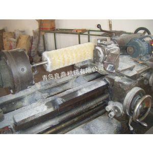 供应山东青岛毛刷滚、工业盘刷毛刷条 除尘毛刷厂家