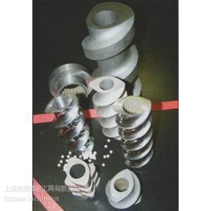供应德国萨阿(SAAR)超耐磨耐腐蚀热等静压粉末合金螺杆元件(双合金)
