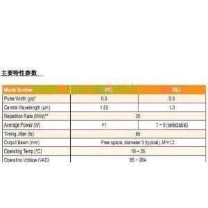 L-band飞秒光纤激光器/模块型号JKY/M023