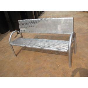 供应钢铁制园林椅子 广东园林休闲椅 广场休闲椅