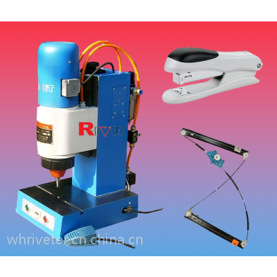 瑞威特摆辗铆接机BM6TQ, 气动摆辗铆接机,台式旋铆机,液压旋铆机,电子产品生产设备