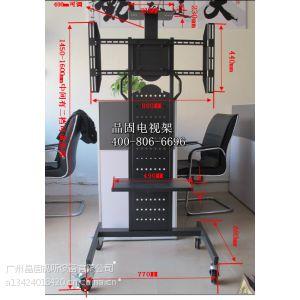 供应供应新款LP6810款60寸以下电视落地移动挂架 平板电视立体移动座架
