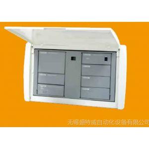 供应施耐德弱电箱 梅兰日兰信息箱 8U增强型弱电箱 电话路由器模块
