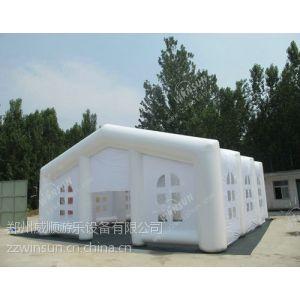 供应郑州威顺厂家直销白色充气婚宴帐篷喜宴帐篷价格