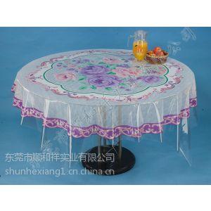 供应PVC法兰绒家用圆桌布/家用圆桌布厂家直销/东莞家用圆桌布/家用圆桌布批发