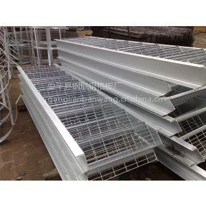 供应钢联地沟盖格栅板|安徽定做喷漆钢格栅|码头防护格栅板|金属建材