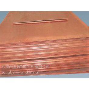 供应广东生产TU2无氧紫铜板,T1紫铜板价格