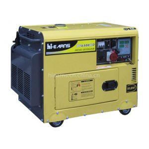 5KW 三相静音发电机组DG6500SE 带数码面板
