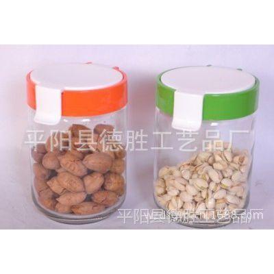 供应新产品玻璃储物罐两件套 多用密封容器 玻璃容器批发