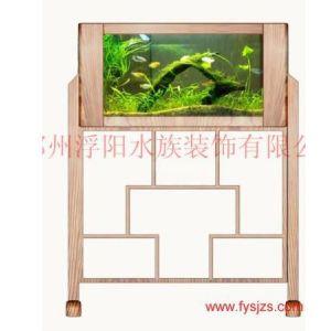 生态屏风鱼缸,水族屏风,隔断屏风,屏风鱼缸
