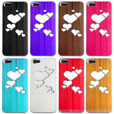 苹果iPhone5/5S 来电闪 手机套   iphone5七彩LED灯发光金属外壳