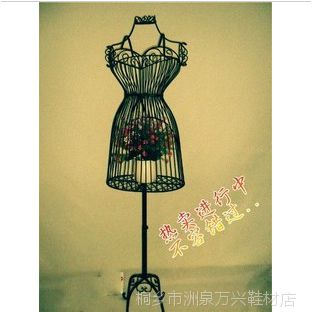 铁艺模特架 铁艺服装道具 铁艺服装架 女式上装衣架宜家创意