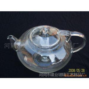 供应耐热玻璃茶壶,耐热玻璃南瓜壶