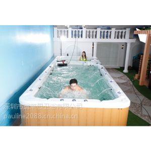 上海别墅游泳池厂家 逆流训练泳池