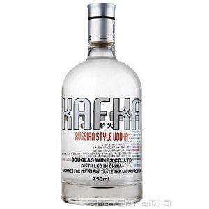 卡夫卡伏特加原酒来自俄罗斯Kafka Vodka正品洋酒 烈酒国产卡夫卡