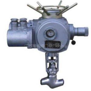 供应电动焊接截止阀,江苏常阀阀门厂生产