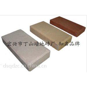 供应陶土砖 烧结砖 人行道砖 透水砖