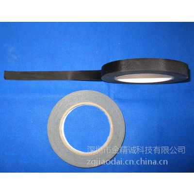 GJC线束缠绕绝缘阻燃无衬纸醋酸布胶带涂布厂家直销及加工(黑色/白色)