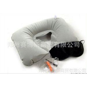 供应旅游三宝 遮光眼罩 充气旅行枕防噪音耳塞 休闲、充气、午睡多用