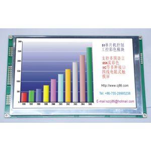 供应7寸串口彩色液晶模块/显示屏 SPI串口通讯 TTL电平 7寸彩色液晶模块