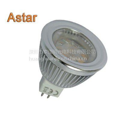 LED射灯 MR16 4W 出口欧美UL认证、CUL认证