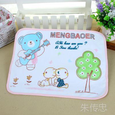 萌宝儿1316 隔尿用品 卡通印花婴儿尿垫小号 宝宝尿垫隔尿床垫