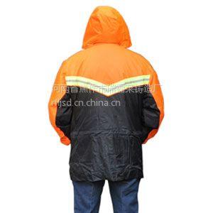 供应供应各种反光衣/反光套装/反光雨衣/寒冷的冬天哪里有施工棉大衣