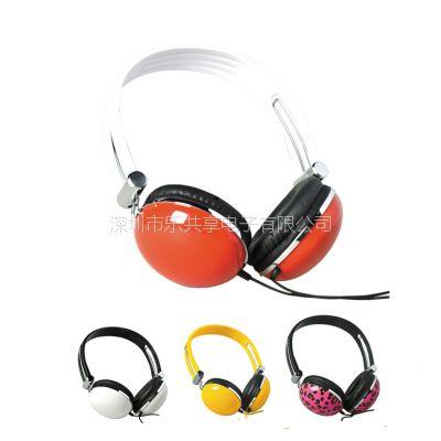 """专业立体声头戴式MP3有线耳机、""""wu\\\'线耳机生产厂家"""