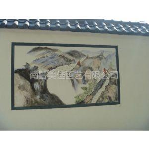 供应抚州 金溪 南城 东乡黎川学校校园围墙文化墙彩绘手绘涂鸦壁画供应!