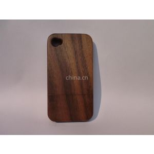 供应供应iPhone苹果专业定制竹木原木防辐射环保时尚手机壳保护套