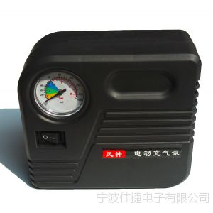 供应36-48V打气筒电动车配件车载车用打气机电动车打气泵电瓶车充气泵