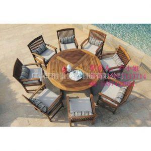 供应餐厅实木桌椅,广场休息套椅,山樟木桌椅