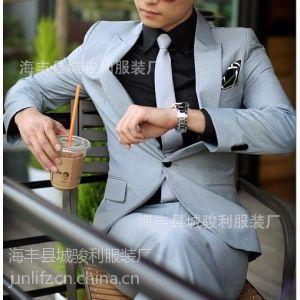 西装男广州西服加工厂28年专业西装裤厂家OEM 男西装工厂承接加工