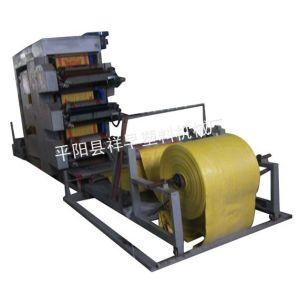 厂家直销塑料编织袋整卷连续印刷机组,无纺布卷筒柔印机TYJX-900