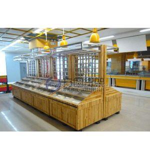 供应超市木质货架 腌腊架 酱卤架 泡菜架