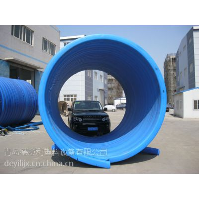 缠绕管设备-螺纹连接缠绕管生产线 青岛管材挤出机DYL 规格:200-3000mm