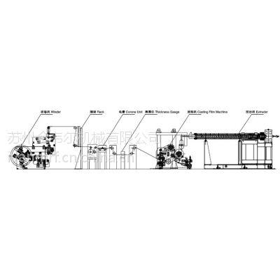 湿法双拉锂电池隔膜生产线